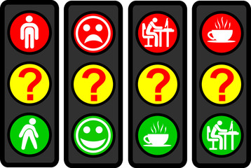 Questions traffic light