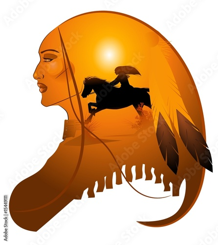 apache lady