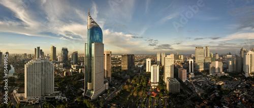 Keuken foto achterwand Indonesië Jakarta City Skyline