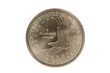 Sacajawea Golden Dollar reverse with clipping path