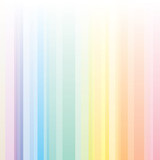 Seamless harmony stripes pattern with rainbow colors. poster