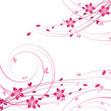 Fototapety Flower background