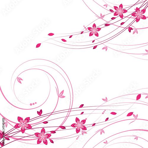 Kwiat tła