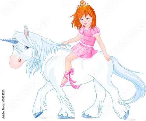 Poster Pony Princess on unicorn