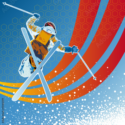 Freestyle_Ski_Snow_Winter_modern_orange