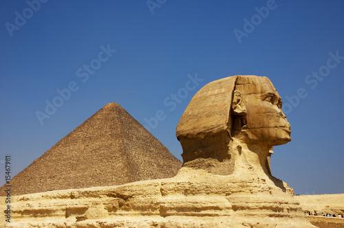 Poster Egypte Sphinx