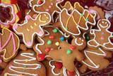 Fototapety Gingerbread cookies