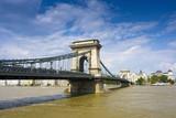 Bridge on the Danube poster
