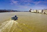 The Danube River in Budapest. poster