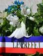 Gerbe de fleurs officielle