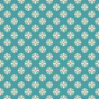 Seamless vector retro pattern with cross dots