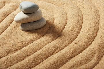 Garden of stones, zen-like, tranquil, spa images