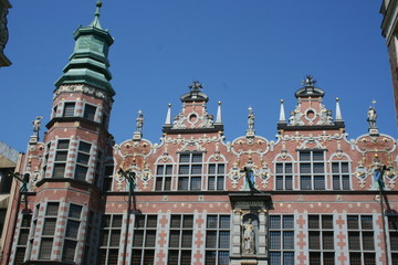 The Great Armory or Great Arsenal  in Gdansk