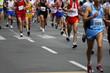 Leinwandbild Motiv Marathon