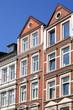 Wohnhaus, Hausfassade, Mietswohnungen,Kiel,Deutschland