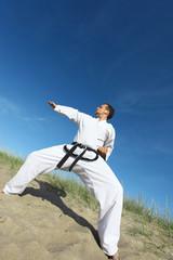 taekwondo Kämpfer