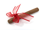 cigar and ribbon
