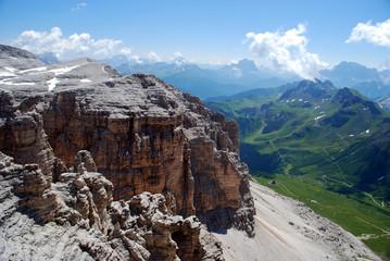 Panorama dal Monte Sella