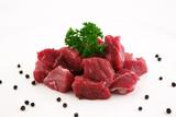 Gulasch Fleisch Roh