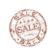 Sale grunge rubber stamp