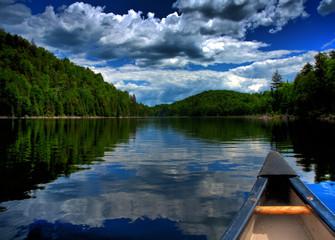 My canoe and me