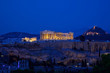 Night view of Acropolis, Athens, Greece