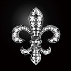百合の紋章 fleur-de-lis