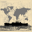 World Shipping Background