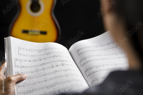 Reading musical chords