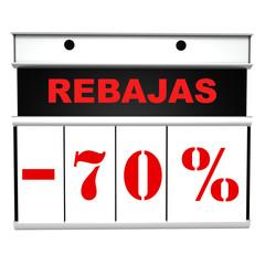 REBAJAS -70