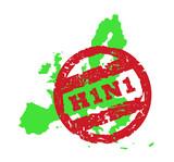 European Union Swine flu poster