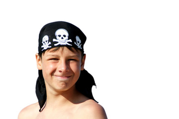 Pirat am Meer