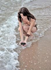 Beach girl 234