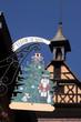 Großes Weihnachtsbaum Wirtshausschild