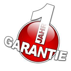 1 Jahr Garantie Button 2