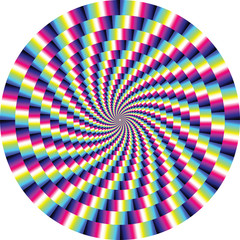 vector optical illusion