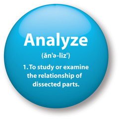 Analyze Definition Icon