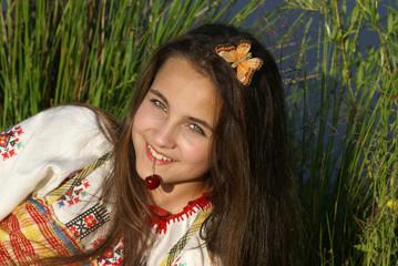 Young russian girl