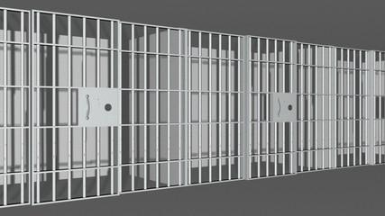 3D Prison Cells