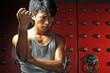 roleta: Young Asian Man training Martial Arts