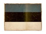 grunge flag of Estonia poster