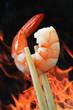 Flamed Prawn