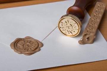 Siegel-Umschlag
