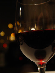 glass of wine with cool light_2