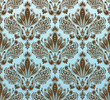 roleta: Decorative seamless floral ornament