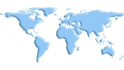 mapa terra