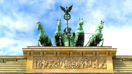 Brandenburg Gate T/Lapse