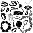 jewelry for women vector