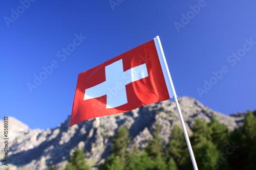 Leinwanddruck Bild Switzerland