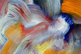 streaks - craftsmanship - brushstrokes poster
